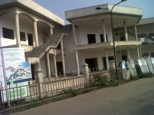 Vlekete Slave Market Museum (under construction). Badagry in pix
