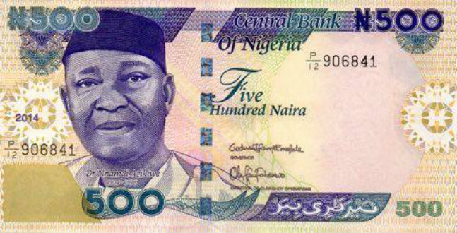 Lessons i learnt from 500 naira note
