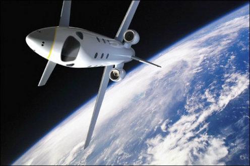 Nigerian on a space trip
