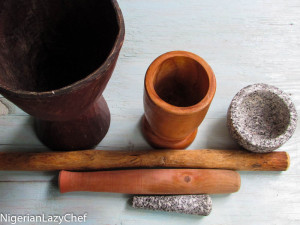 The Mortar, The Pestle and It's Place in The Nigerian Kitchen