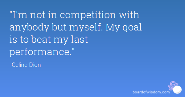 Who are you in competition with?
