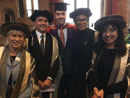 "Funmi Iyanda's inspiring speech at University of Cumbria - ""when in soup, lick it"""