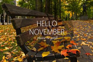 Happy new month - November