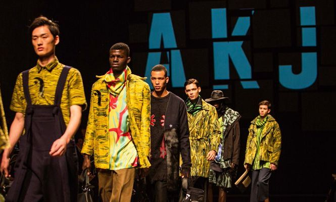 African Asylum Seekers Walk The Runway At Florence Fashion Show