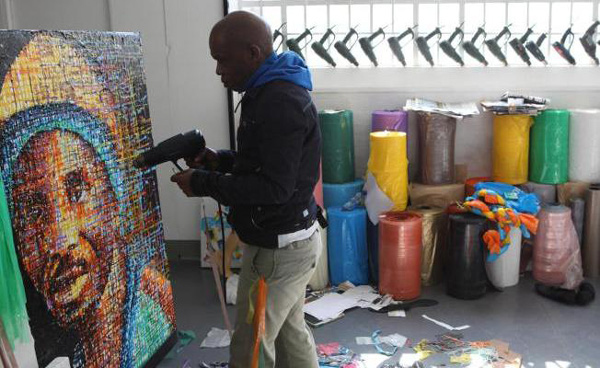 One Man's Trash Is Another Man's Treasure: Artist Recycles Plastic Waste Into Colourful Artwork