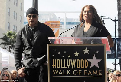 LL Cool J Gets A Star On Hollywood Walk of Fame