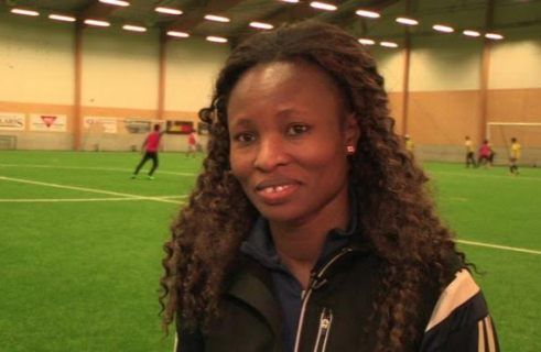 Multiple African Champion, Perpetua Nkwocha Now Coaching A Team Of Migrants In Sweden