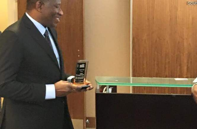 Goodluck Jonathan Honoured In U.S. By Luther King's SCLC