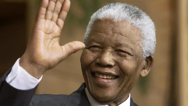 Nelson Mandela's ArtworkOn display In London For First Time