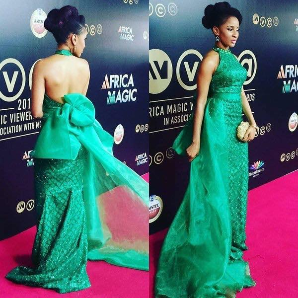 Top 16 Best Red Carpet Look At The #AMVCA2016
