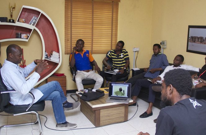 George Osodi's Inspiring Session At The Free Spirit Academy