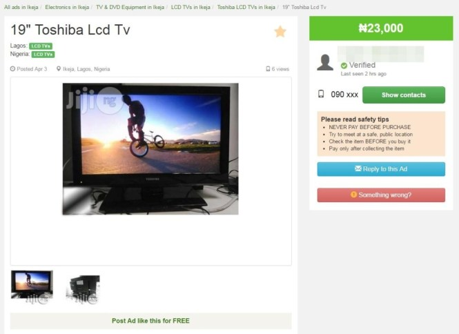 Presents from Jiji: Affordable LCD TVs For Everyone!