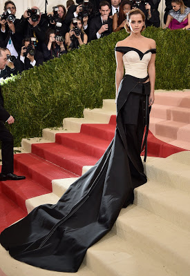 Emma Watson's Met Gala Dress Was Made Out of Recycled Plastic Bottles