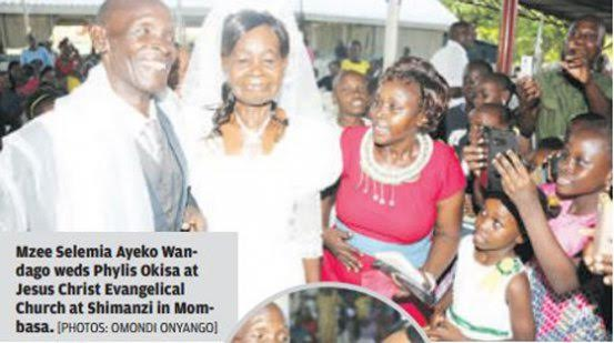 58-year-old man marries 64-year-old woman he had been secretly admiring for 40 years - elsieisy blog