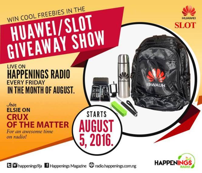 August Giveaway on Radio; Join Us Fridays on #CruxofthematterwithElsie