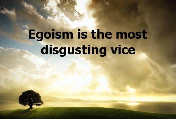 Egoistic Sorry - elsieisy blog