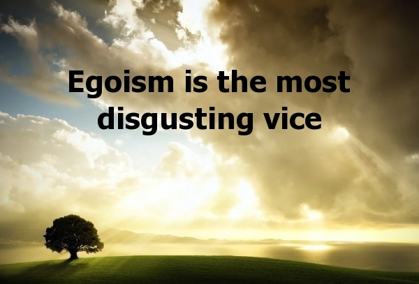 Egoistic Sorry - elsieisy blog