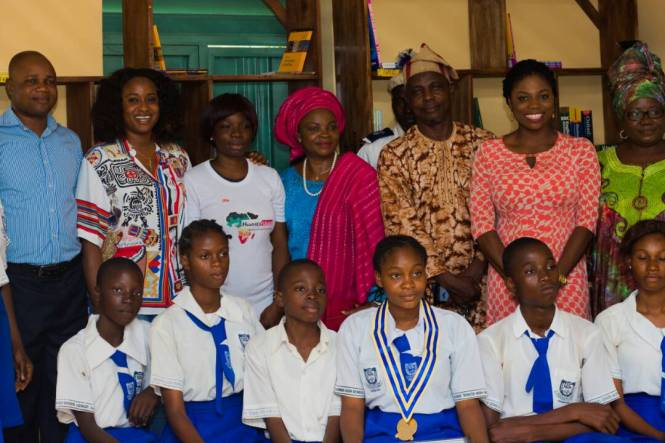 Library project at Ajuwon Secondary School, Ogun State by ACIF in partnership with Heads Up Africa - elsieisy blog