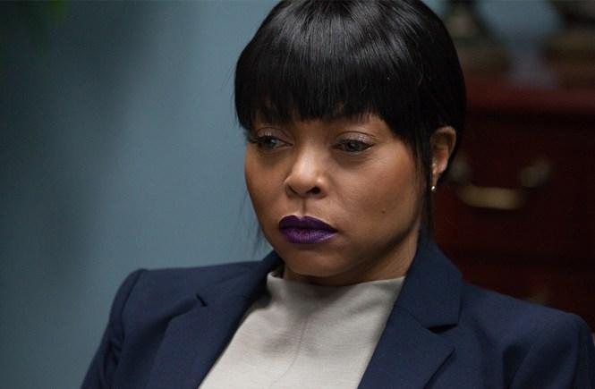 """Taraji P. Henson as """"Melinda"""" in ACRIMONY."""