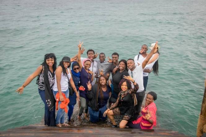 Elsie Godwin and Zanzibar tour group - elsieisy blog
