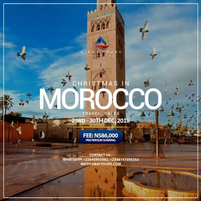 Morocco travel package - abaytours - elsieisy blog