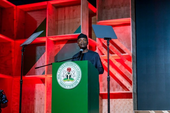 prof Osinbajo at Google for Nigera - elsieisy blog