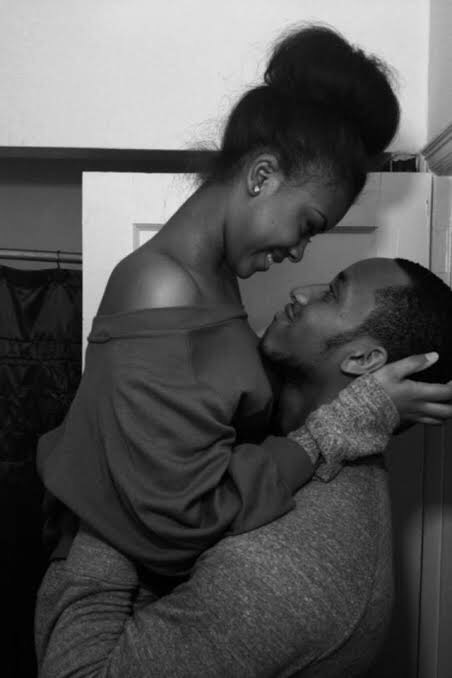 Black couple looking in each other eyes - elsieisy blog
