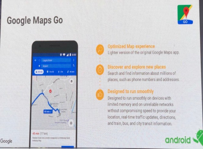 Google Mapps go - google4everyone - elsieisy blog