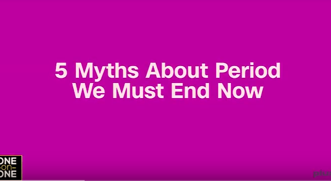 myths on period - elsieisy blog