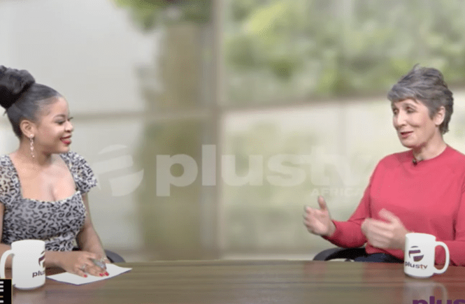 Elsie Godwin and Ines Pohl on Plus TV Africa - elsieisy blog - DW