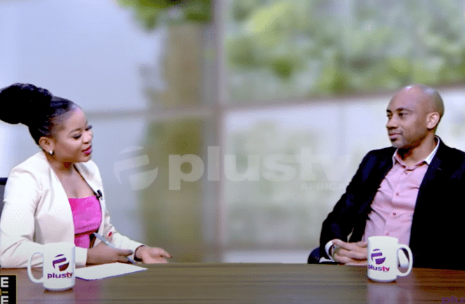 Elsie Godwin and Jide Martin on Plus TV Africa - Elsieisy blog - Comic Republic