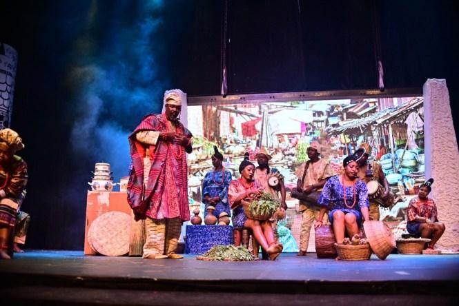 #MTNTheatre2021 #MTNxDeathAndTheKingsHorseman - Death and the King's Horseman  - Wole Soyinka – Bolanle Austin Peters – MTN Foundation – Elsieisy blog