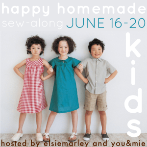 happy homemade sew-along: June 16-20, 2014