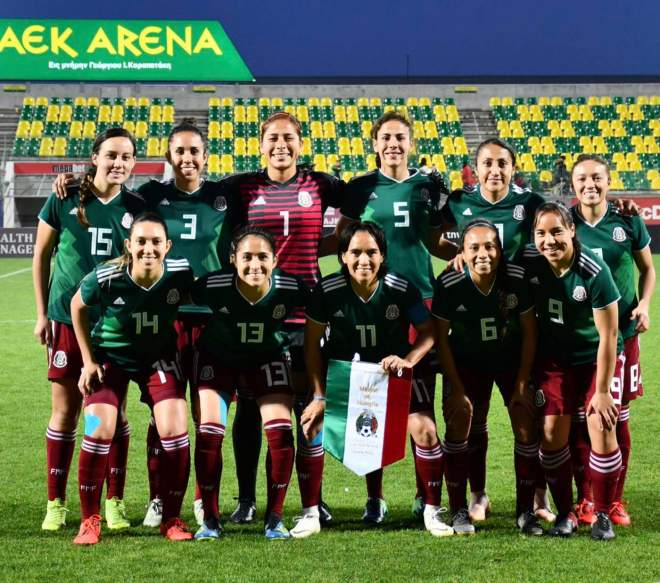 El conjunto mexicano ocupó el segundo sitio de Grupo B con cuatro unidades. (Especial)
