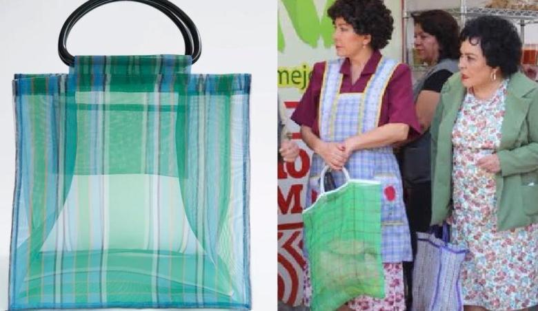 Tunden en redes a Zara por su diseño de 'bolsa para el mandado ...