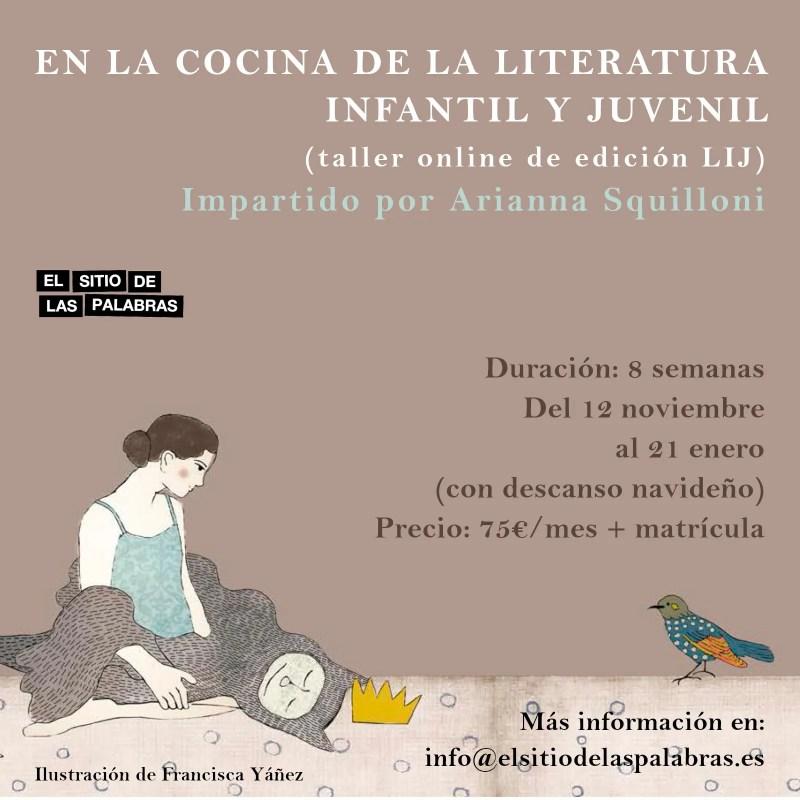 Una nueva edición del curso virtual EN LA COCINA DE LA LIJ