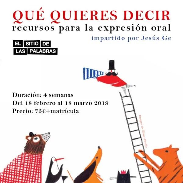 cartel QUE QUIERES DECIR web 800x800 feb_19