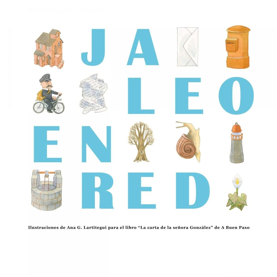 cartel JALEO EN RED 03 créditos