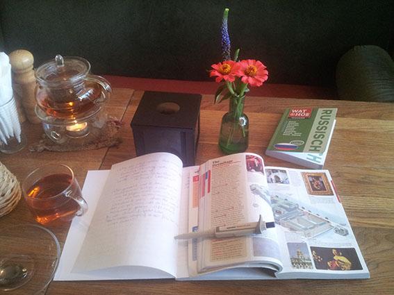 Voorbereidingen morgen Botanika Sint Petersburg