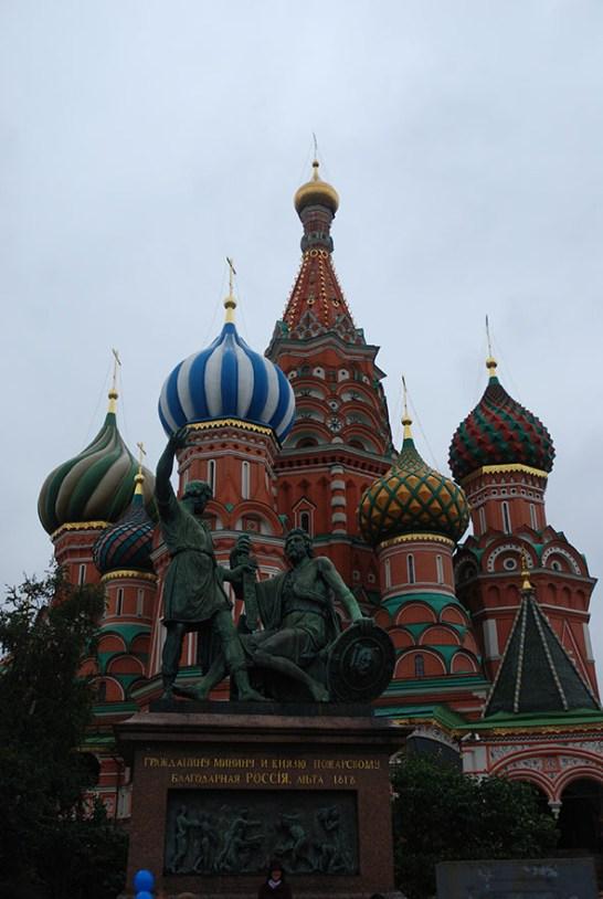 Sint Basil kathedraal Moskou Rusland