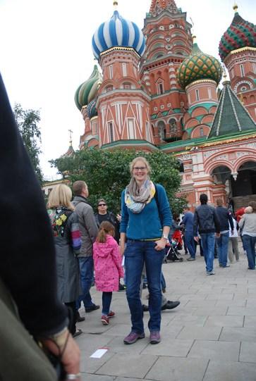 Sint Basil kathedraal Moskou poging 1