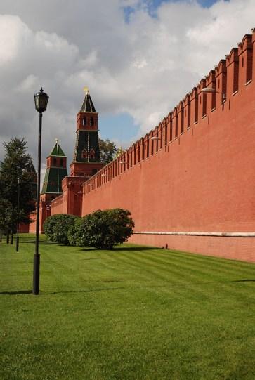 Kremlin Moskou buitenkant