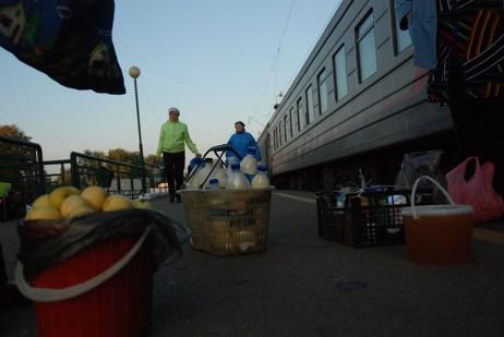 Station TransSiberië express