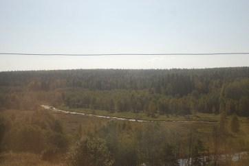 Uitzicht TransMongolië express