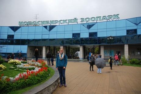 Novosibirsk zoopark dierentuin