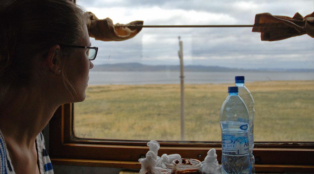 Trein van Irkutsk naar Ulaanbaatar TransMongolië express