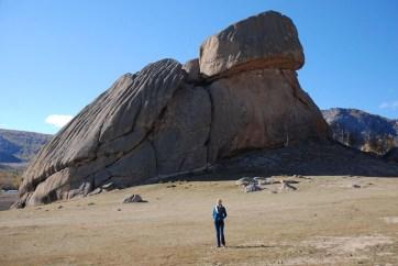 Turtle rock Gorkhi Terelj nationaal park