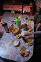 Ontbijt rondreis Mongolië