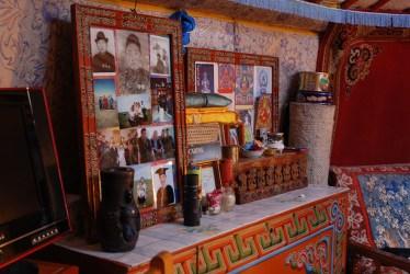 Familiefotos ger Mongolië