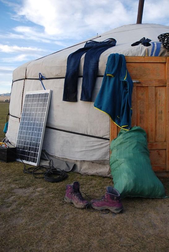 Kleding drogen Mongolië